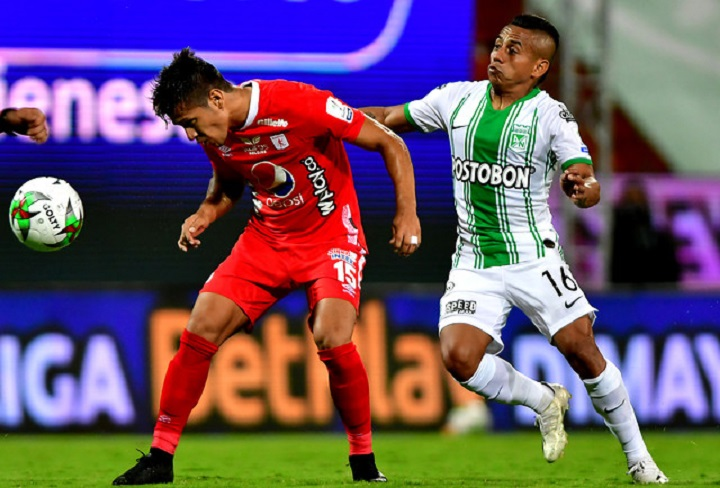 La muestra de los altibajos que sufre Atlético Nacional se ve claramente reflejado en los jugadores. FOTO COLPRENSA - DIMAYOR.