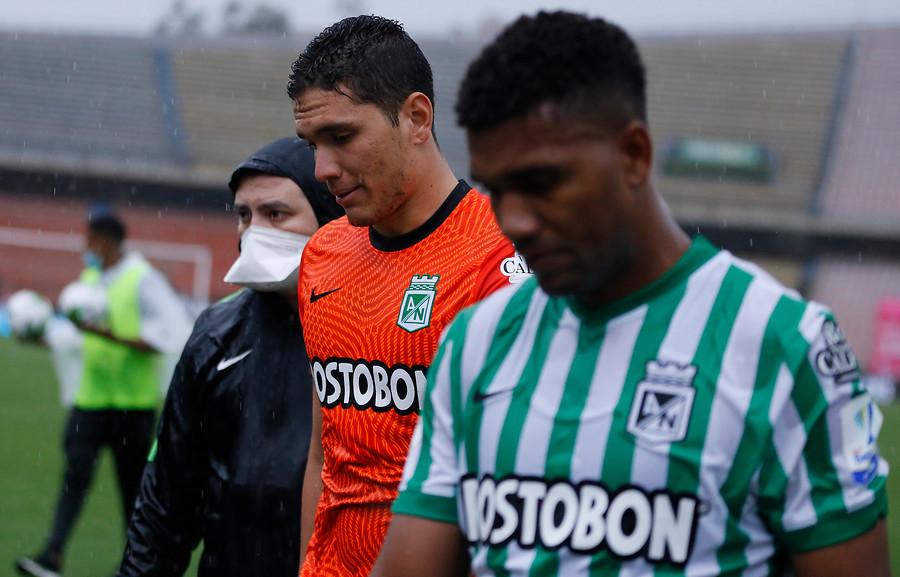 Aldair Quintana no marca diferencia en el arco de Nacional. Por su parte Danovis Banguero no es la sombra en sus actuaciones con el Tolima. FOTO DIMAYOR.