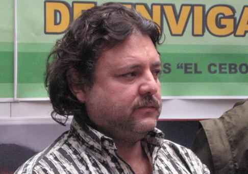 """Alirio de Jesús Rendón Hurtado, alias """"El Cebollero""""."""