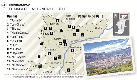 La mafia del ladrillo azota a las construcciones de Bello
