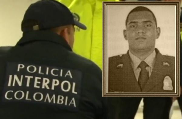 El patrullero capturado, Wálter de Jesús Ardila, llevaba siete años trabajando en la Policía. Cortesía Fiscalía.