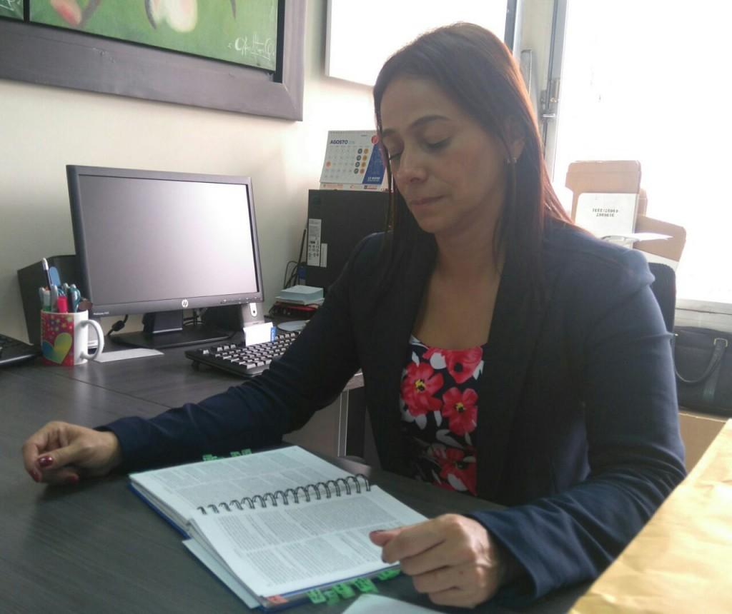 Claudia Carrasquilla Minami, directora seccional de Fiscalías de Medellín. Cortesía Fiscalía.