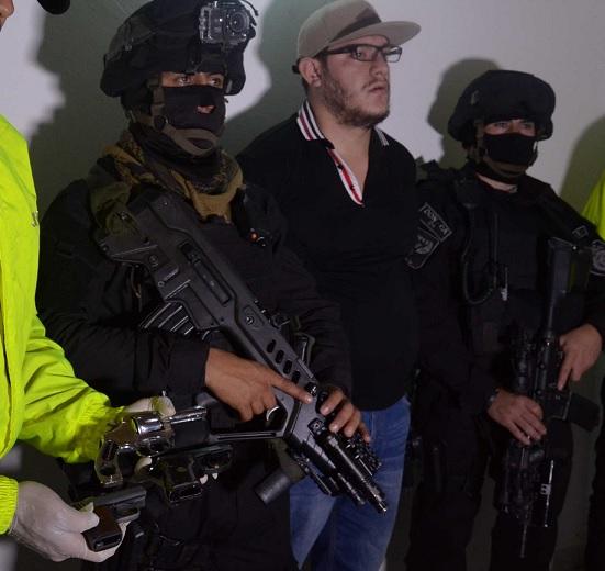 """William Alberto Duque Ciro, alias """"el Diablo"""". Cortesía de Policía Metropolitana."""