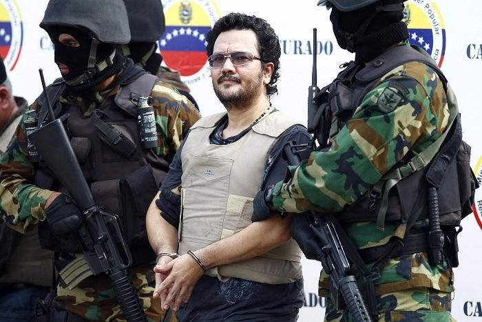 Así lucía Maximiliano Bonilla en diciembre de 2011, al momento de su deportación desde Venezuela a EE.UU. Foto Reuters.