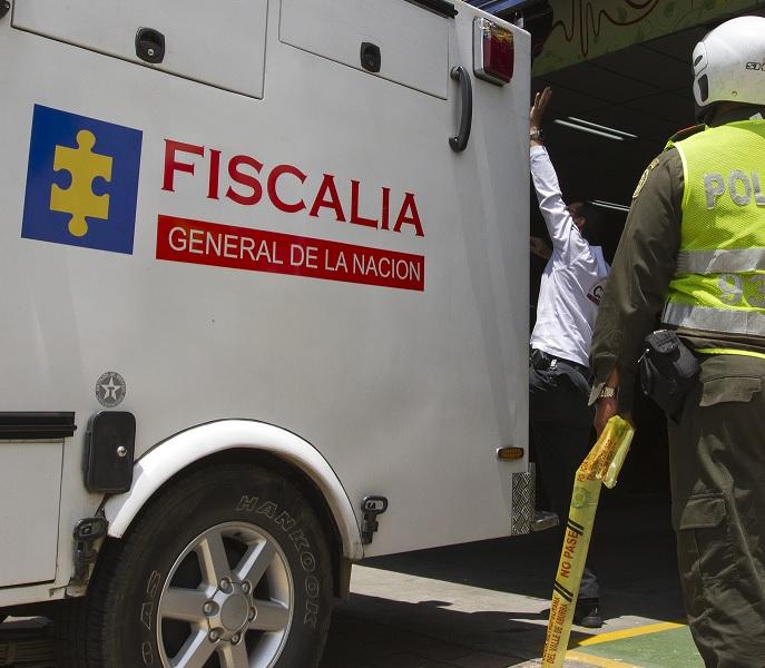 La inspección técnica a los cadáveres fue realizada por investigadores del CTI de la Fiscalía. Foto: Archivo.
