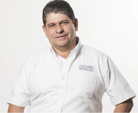 César Suárez Mira, alcalde del municipio de Bello, Antioquia. Foto de Archivo.