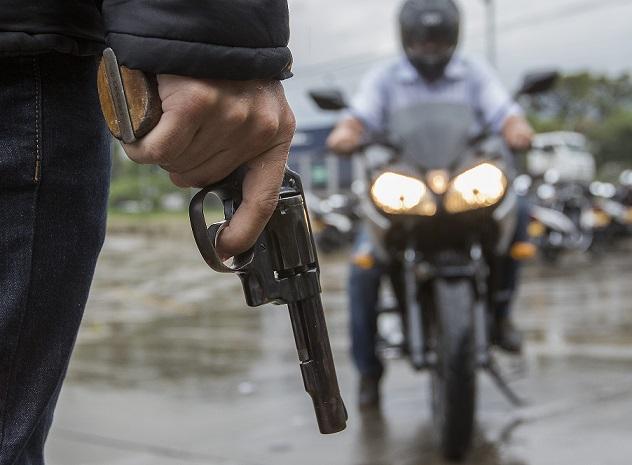 El hurto de motos está creciendo en Medellín y en general en Colombia. Foto de Róbinson Sáenz.