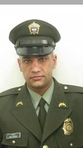El patrullero asesinado, Juan Carlos Herrera Londoño. Foto de cortesía.