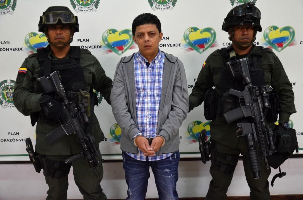 """Alias """"Reblujo"""", presunto cabecilla de la banda """"los Chatas"""". Foto cortesía de la Policía."""