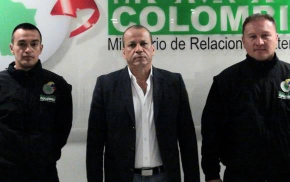 Así fue la detención de Gabriel Martínez en 2016, por parte de Migración Colombia. Foto de archivo.