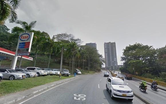 En este lugar sucedió el homicidio del ganadero José Campo Obando. Foto de Google Maps.