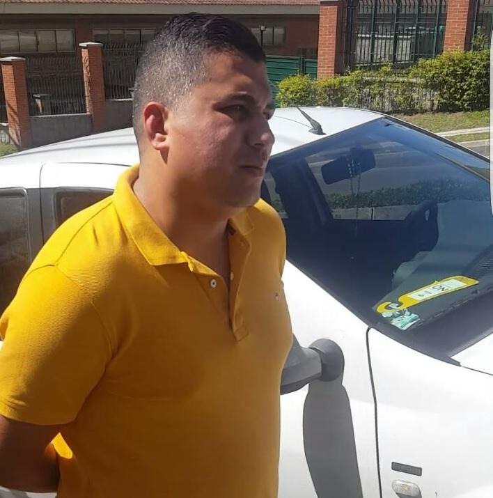 """Carlos Marín Ospina fue miembro de la Policía Metropolitana, se retiró en 2009 y comenzó a trabajar con """"la Terraza"""", según la Fiscalía. Foto cortesía Policía."""