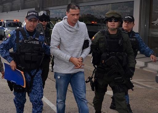 """""""Diego Chamizo"""" fue transferido desde una cárcel de Medellín hasta Cómbita, Boyacá. Foto de archivo."""