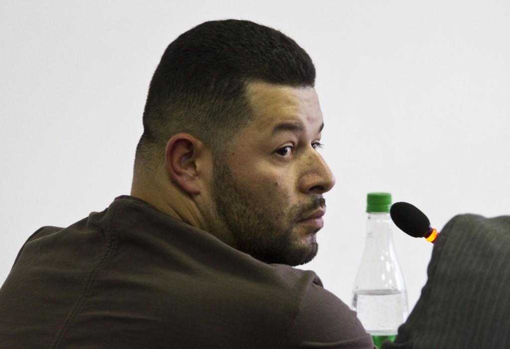 "Adiel Fabián Covaleda, alias ""Adiel"" o ""Adier"", continuará en la cárcel. Foto de Esteban Vanegas."