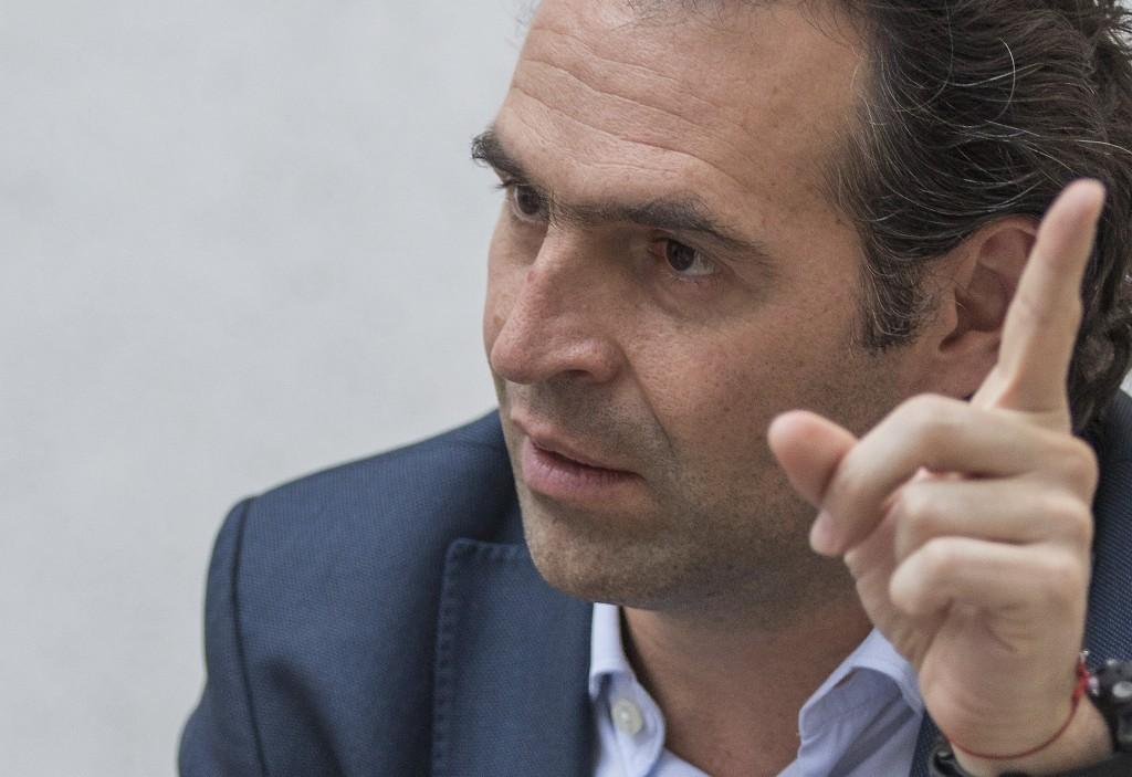 Federico Gutiérrez Zuluaga, alcalde de Medellín desde 2016. Foto de Róbinson Sáenz.