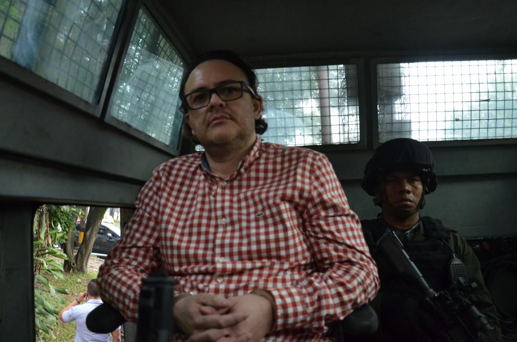 """El sentenciado Carlos Mauricio Soto Isaza, alias """"Soto"""". Foto cortesía de la Policía."""