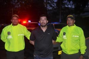 """""""Hugo Pájaro"""", capturado por la Sijín. Cortesía de la Policía."""