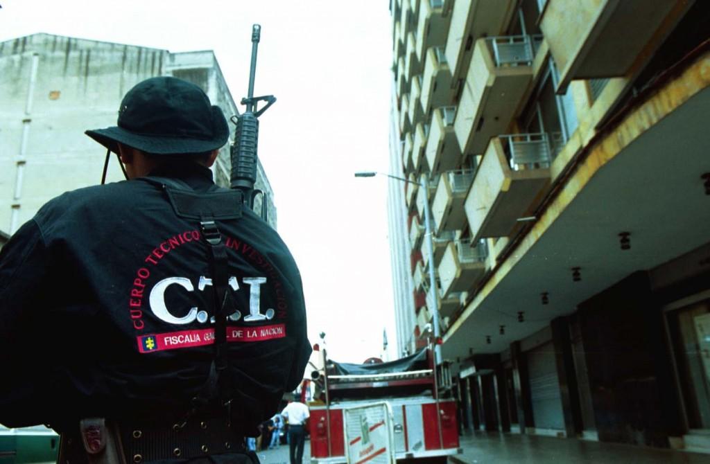 La captura del funcionario del CTI se realizó en medio de un allanamiento a algunas oficinas del búnker. Foto de archivo.