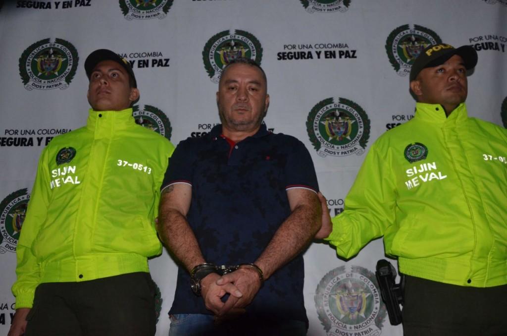 """Jorge de Jesús Vallejo Alarcón, de 51 años, apodado """"Vallejo"""" o """"el Rolo"""". Foto de la Policía Metropolitana."""