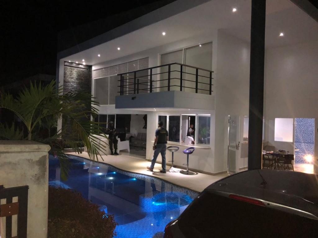 """Esta es la propiedad en la que fue capturado """"Cataño"""" en San Jerónimo, Antioquia."""