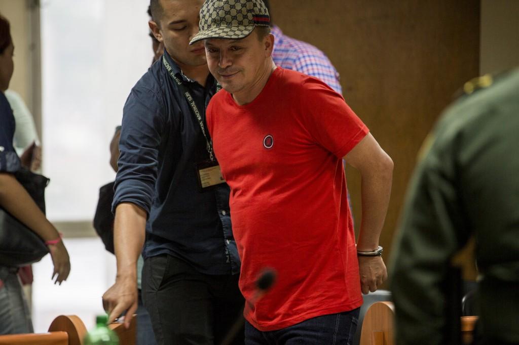 """Elkin Fernando Triana Bustos tiene 46 años y la Fiscalía lo señala de haber fundado la banda """"los Triana"""" en los años 90, en compañía de su hermano John Fredy Triana Bustos (""""el Gordo"""") y su primo Carlos Mario Triana Vásquez (""""Mario Chiquito""""). Foto de Santiago Mesa."""