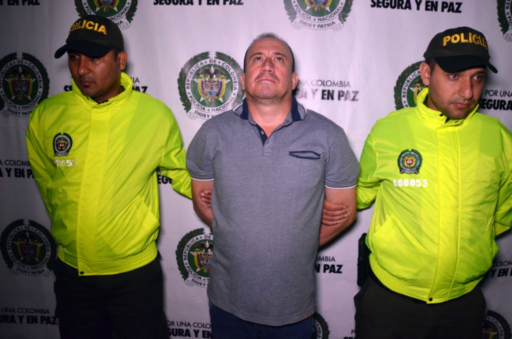 """Alias """"Cucho Iván"""", presunto coordinador de la banda de """"Robledo"""". Foto cortesía de la Policía."""
