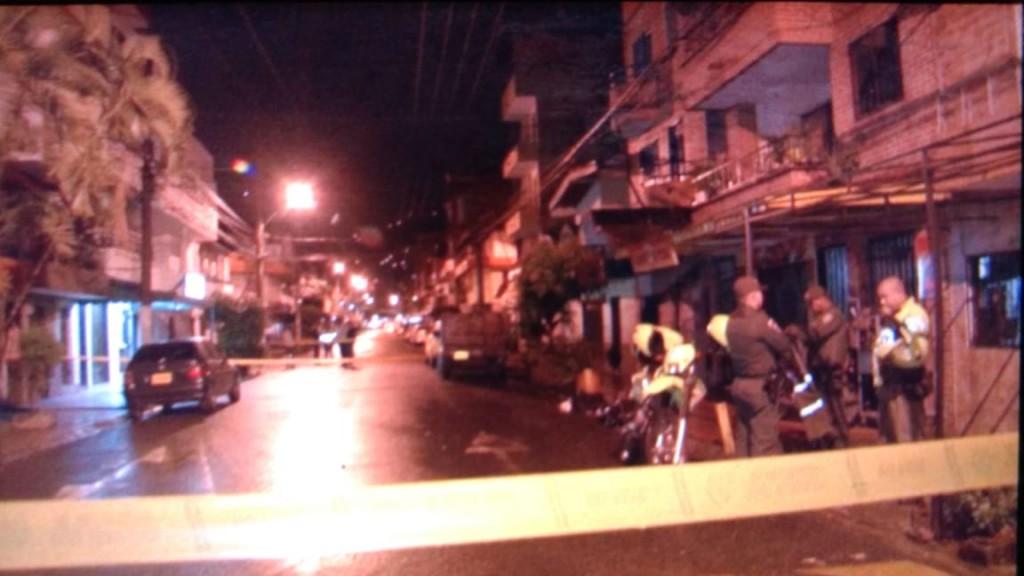 En esta cuadra se presentó el ataque, en el sector La Raya de Guayabal. Foto de cortesía.
