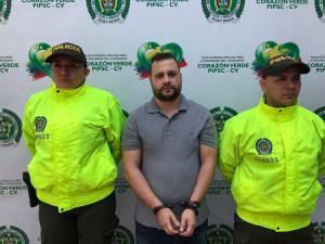 """Diego Fernando Duque Ríos, alias """"Gordo Gualo"""". Cortesía de Policía."""