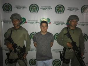 """William Duque Ríos, alias """"Fantasma"""". Cortesía de la Policía."""