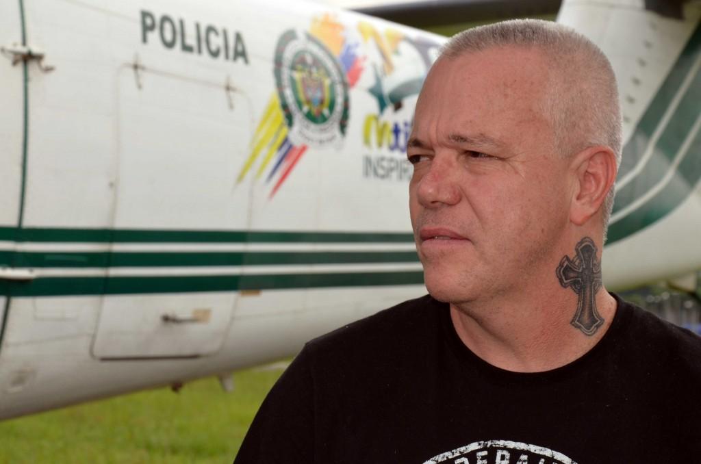 """La cárcel de Valledupar es el nuevo hogar de Jhon Jairo Velásquez Vásquez, alias """"Popeye"""". Foto cortesía de la Policía."""
