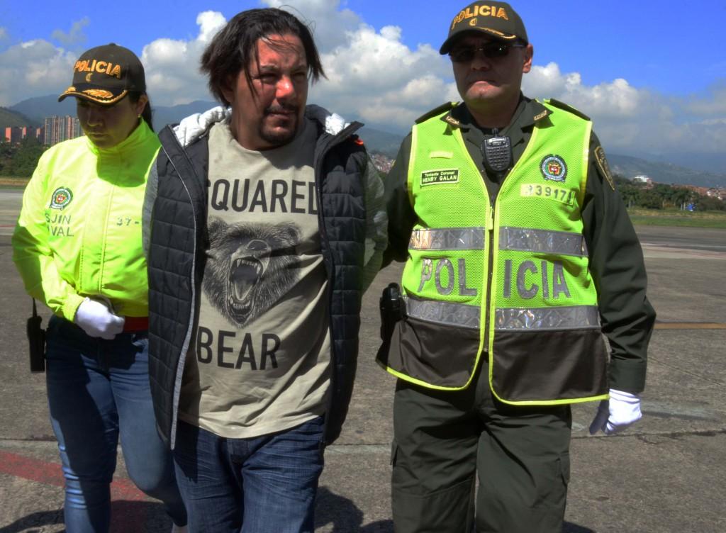 """Juan Carlos Mesa Vallejo, alias """"Tom"""", es investigado por la DEA, por sus presuntos negocios de narcotráfico transnacional. Foto cortesía de la Policía."""