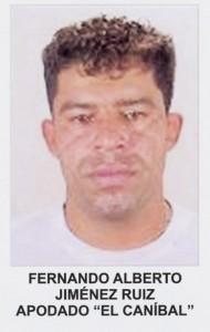 """Así figuraba """"el Caníbal"""" en el cartel de los más buscados de 2005. Foto cortesía de la Policía."""