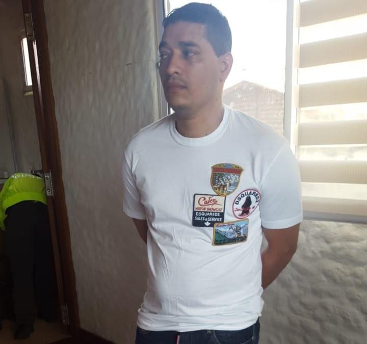 """Juan Carlos Castro, alias """"Pichi Belén"""" o """"Pichi Castro"""". Foto cortesía de la Policía."""