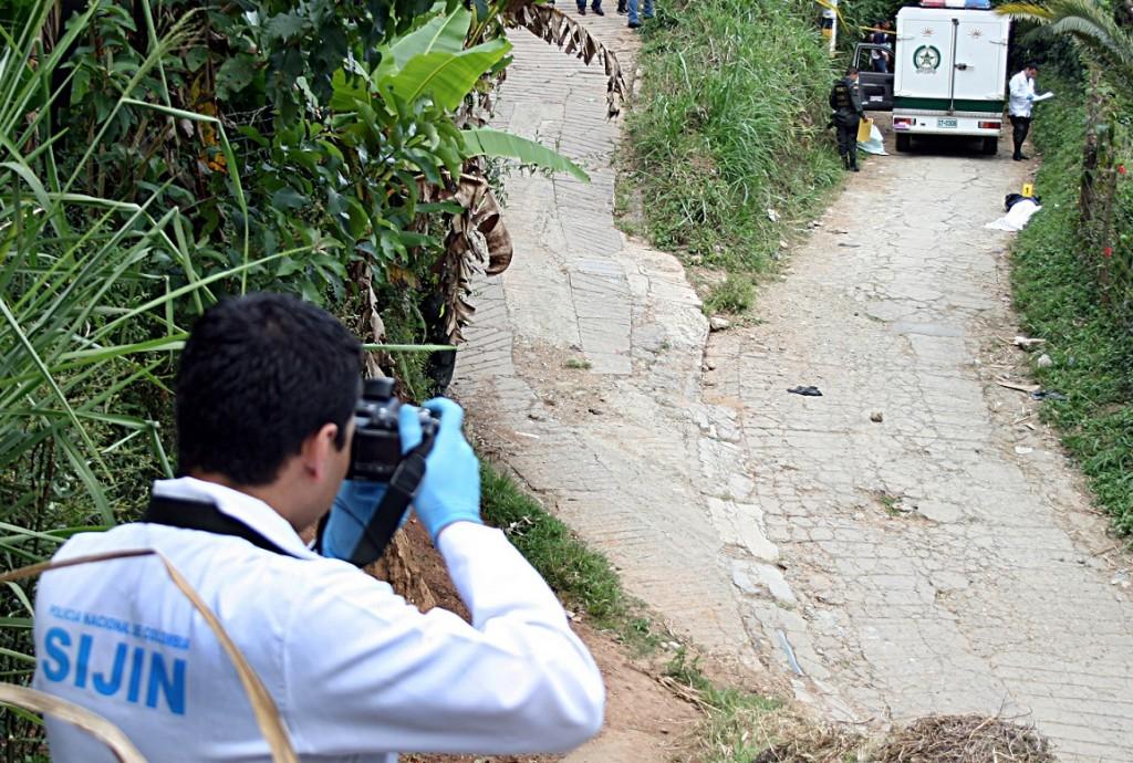 Las víctimas fueron atacadas por sicarios en motocicleta, que las siguieron desde Medellín. Foto de archivo.