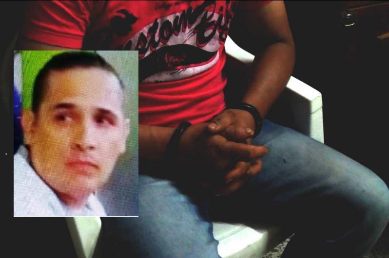 """En el recuadro aparece Julio César Montoya Bustamante, alias """"Serrucho"""", capturado en el barrio San Diego de Medellín. Fotos de archivo y cortesía."""