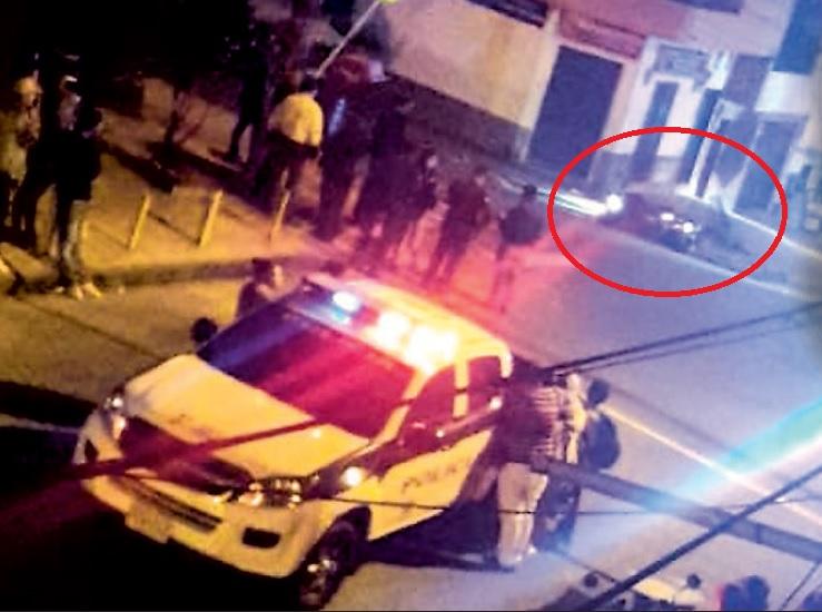 En esta cuadra del barrio Campo Valdés N°1 se presentó el ataque sicarial. Foto cortesía de Q'Hubo Medellín.