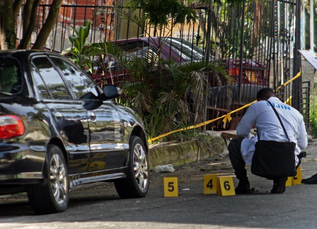 El ataque fue perpetrado en una vía pública del sector La Viña, en Manrique, dejando dos personas heridas. Foto de archivo.