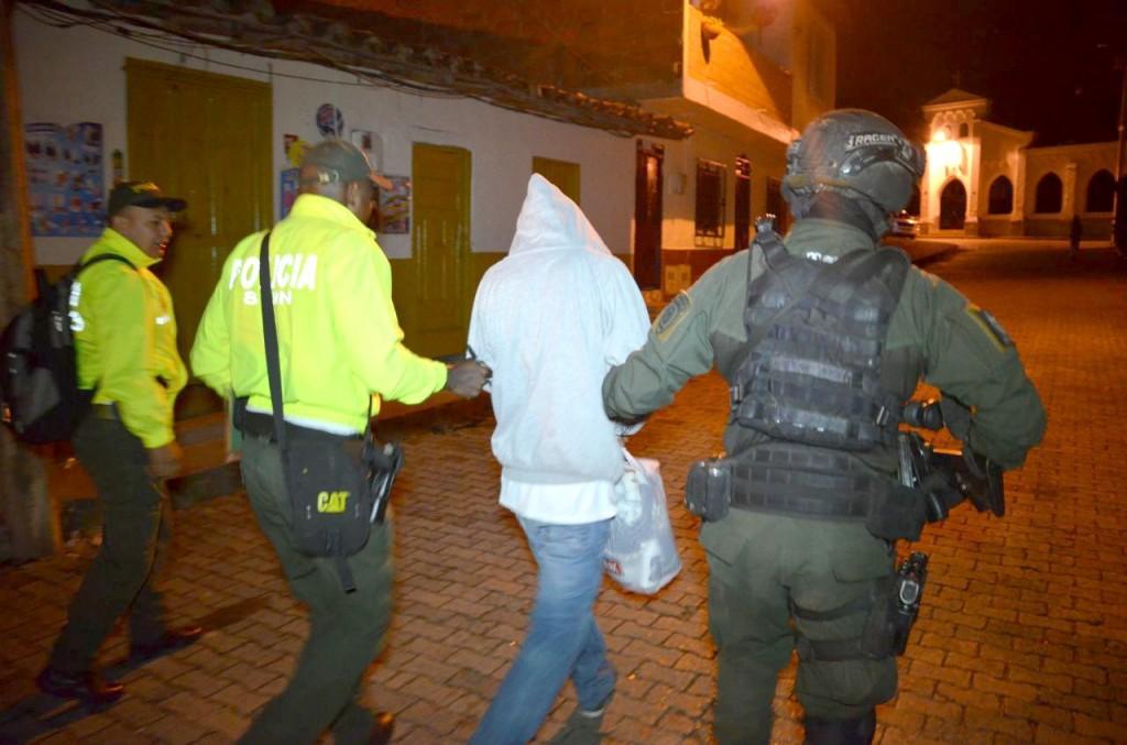 """En la Operación Fénix (2018) capturaron en La Ceja a 34 miembros del combo """"Palenque"""", patrocinado por """"los Chatas"""". Foto de cortesía."""