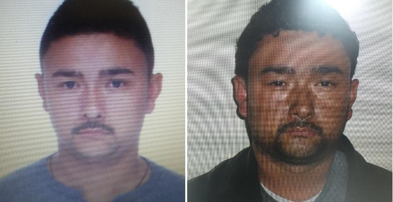 """Estas son las fotografías de alias """"el Montañero"""", cabecilla de la banda """"el Mesa"""", que están en poder de las autoridades.  Fotos   cortesía de Policía y Fiscalía."""