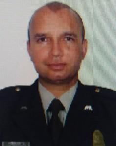 El policía (r) Óscar Gómez Arango. Cortesía.