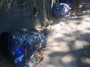 Así fueron dejadas las cuatro víctimas procedentes de  Pereira. FOTO: cortesía