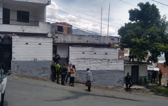 La estación de Policía del barrio Santander, donde se produjo la fuga, también llamada estación del Doce de Octubre. FOTO: archivo.