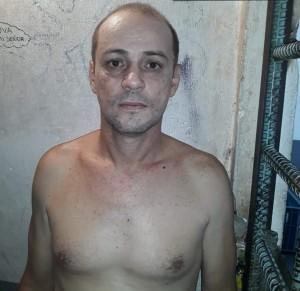 """Wilson Ríos López (""""Monopepe""""), antes de fugarse de la estación policial. Cortesía."""