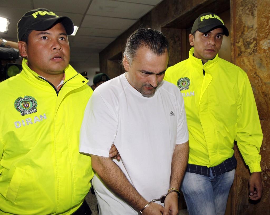 """Édinson Rodolfo Rojas, alias """"Pichi Gordo"""" o """"Pavarotti"""", miembro de """"la Terraza"""" y """"la Oficina"""". Foto de archivo El Colombiano."""