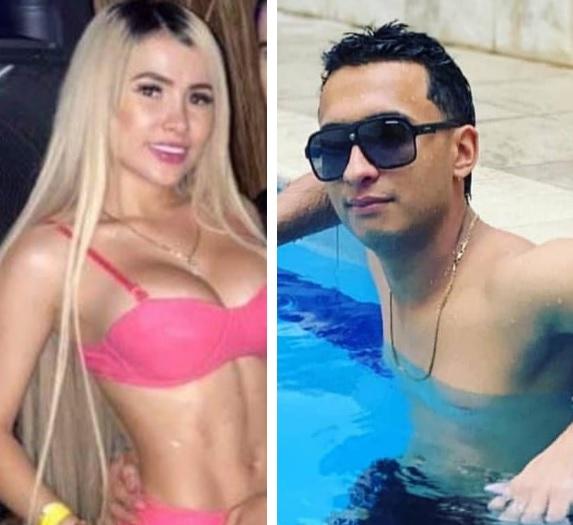 La pareja asesinada en Bello, Kelly García y Santiago Pérez. Fotos de cortesía.