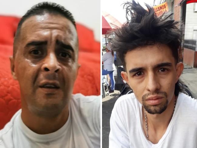"""Juan Osorio (""""Julito"""") y Arnold González (""""Langarfio""""). Cortesía."""