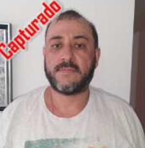 Así fue reseñado Albert Henao Acevedo, luego de su captura por parte de la Policía. Foto de cortesía.