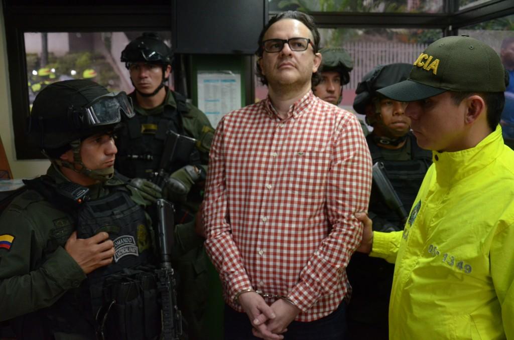 """Carlos Mauricio Soto Isaza (""""Soto"""") tiene una condena de nueve años de cárcel por concierto para delinquir agravado. Foto cortesía de la Policía."""