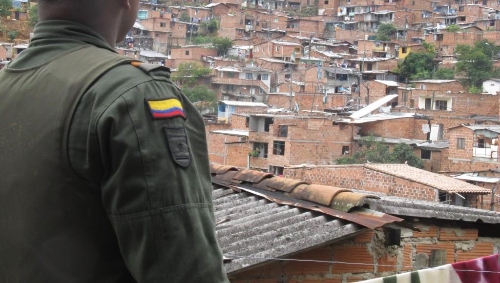 De los 14 policías involucrados en la investigación penal, 10 prestan su servicio en la subestación del corregimiento El Hatillo, en Barbosa. Foto: archivo El Colombiano.