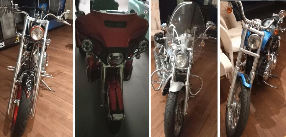 Las motocicletas fueron importadas, algunas de ellas customizadas a petición del cliente. Cortesía.